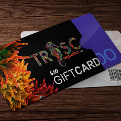 TRSC 50 Dollar Gift Card TRSC Gear & Accessories LPS, SPS, Softies, Zoanthid Corals Online