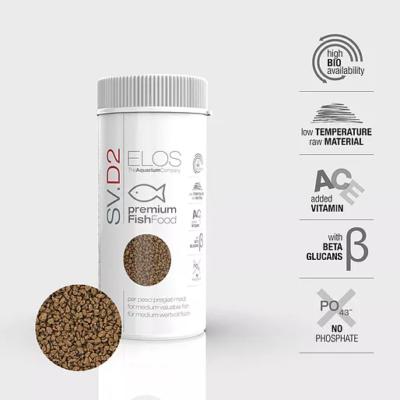 ELOS SV.D2 Medium Fish Food ELOS Products LPS, SPS, Softies, Zoanthid Corals Online